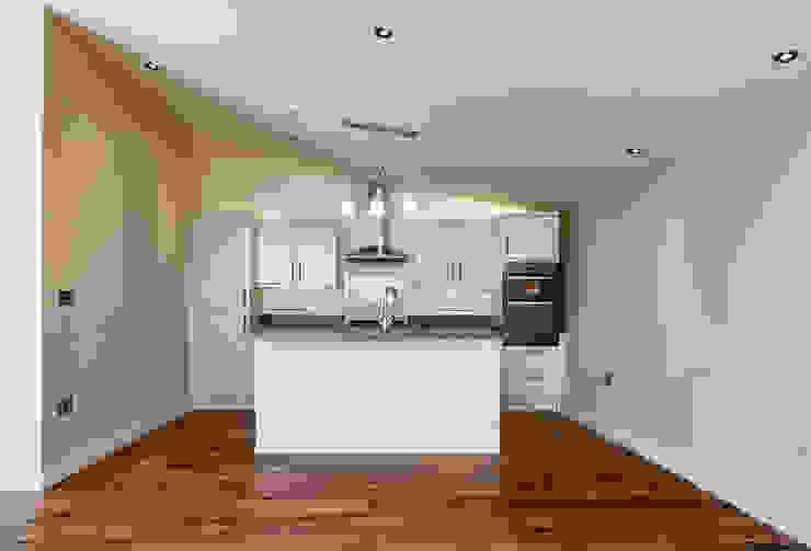 Mallards View, Devon Moderne Küchen von Trewin Design Architects Modern