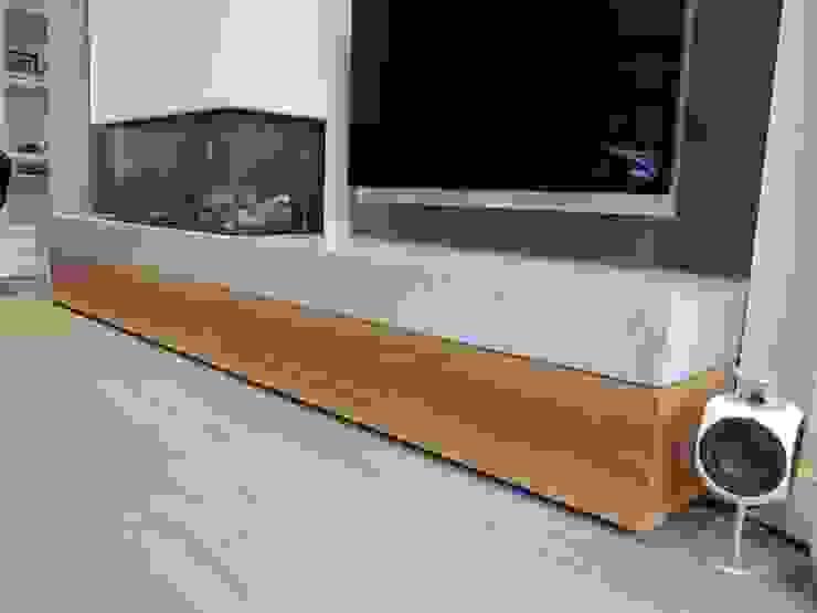 detail hoek lade van satijn noten hout.: modern  door ARX-interieur, Modern