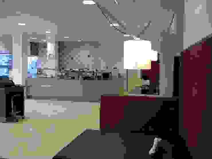 Grand café met frontcooking van ARX-interieur