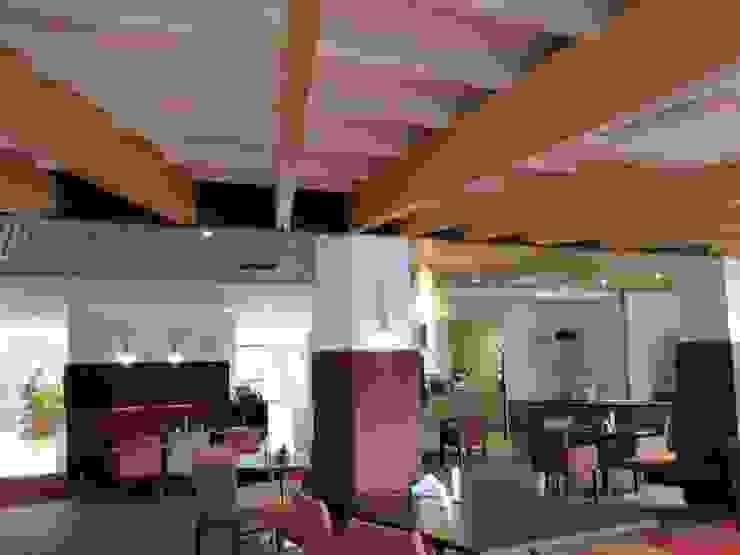 Zorg grand café met receptie van ARX-interieur