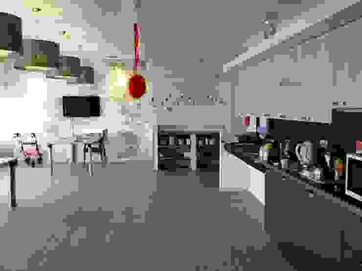 Ook de keuken is rolstoelbestendig. van ARX-interieur