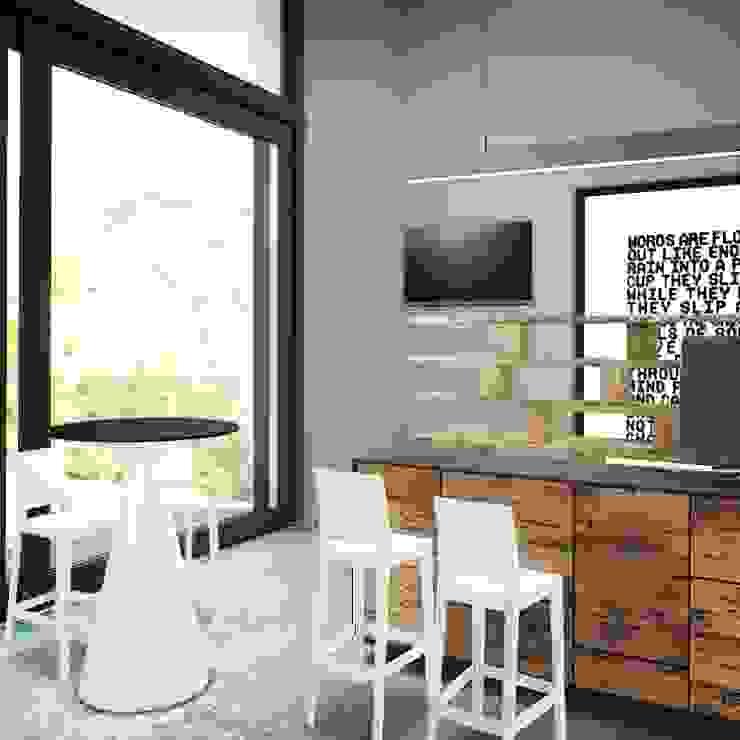 Bar - cadeira kartell por Gabriela Mota