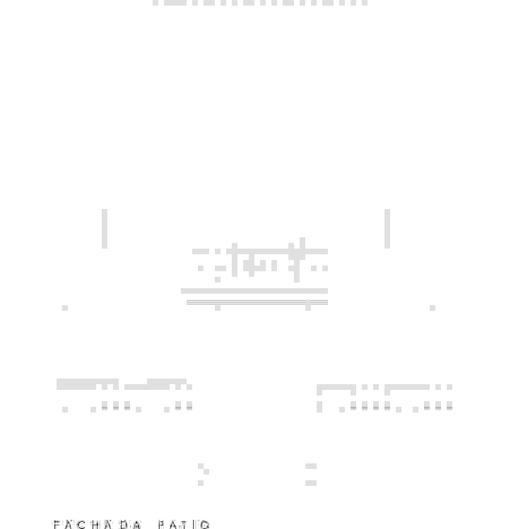 Fachada posterior de PICHARA + RIOS arquitectos Clásico