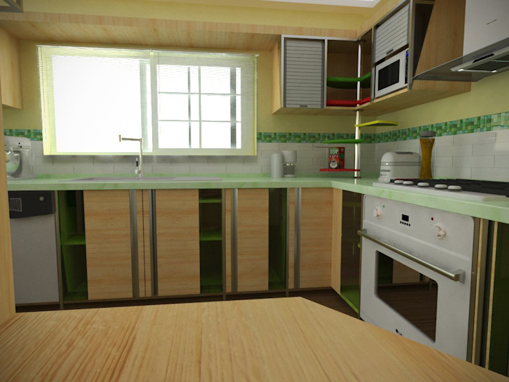 Kitchen by Rbritointeriorismo, Modern