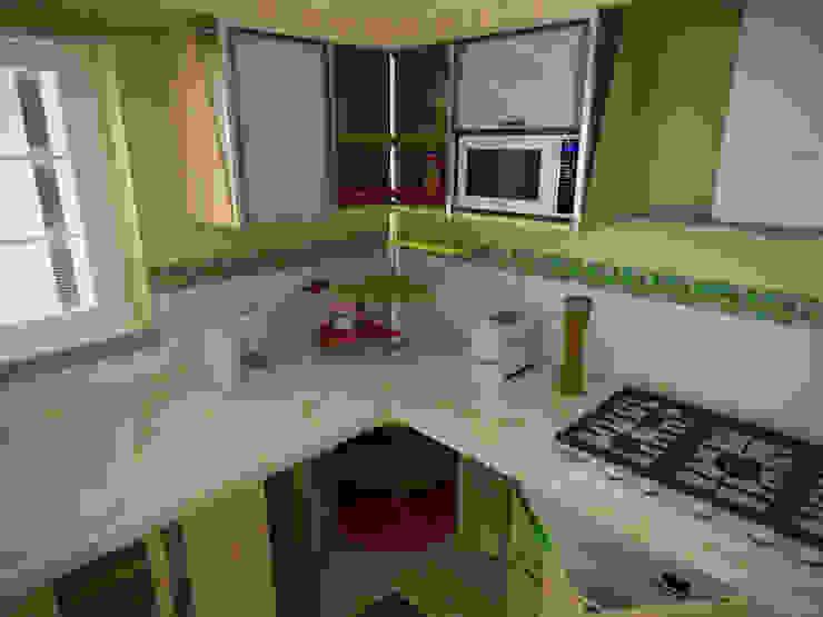 Cocina, vivienda unifamiliar Rbritointeriorismo Cocinas de estilo moderno