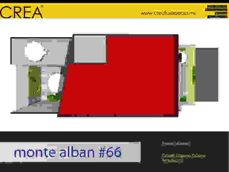Monte Albán #66 Casas modernas de CREATUESPACIO.MX Moderno Concreto