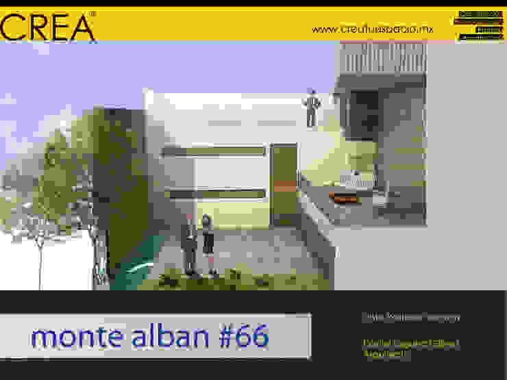 Monte Albán #66 Balcones y terrazas modernos de CREATUESPACIO.MX Moderno Concreto
