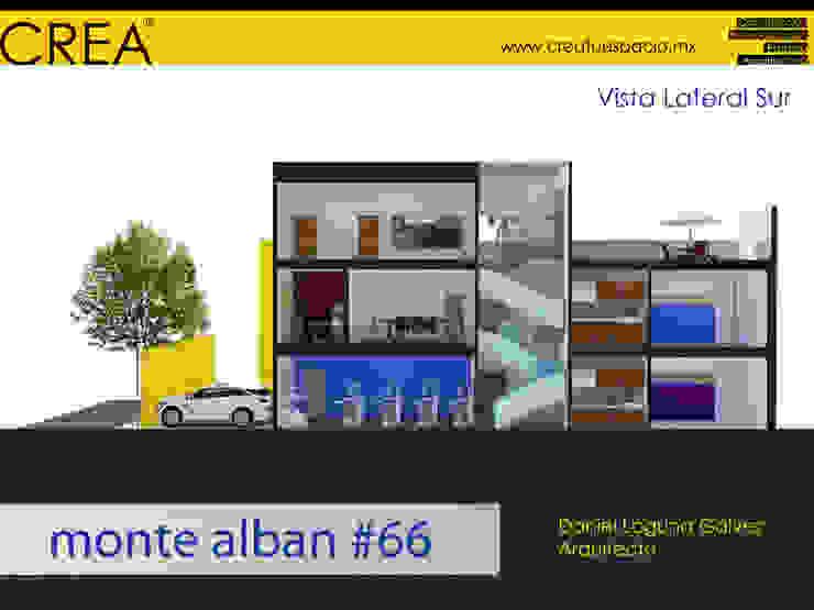 Monte Albán #66 Estudios y despachos modernos de CREATUESPACIO.MX Moderno