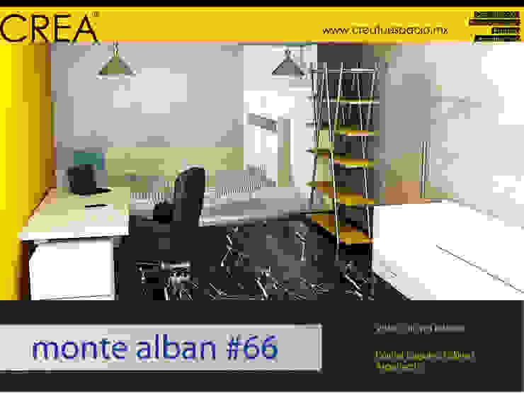 Monte Albán #66 Estudios y despachos modernos de CREATUESPACIO.MX Moderno Mármol