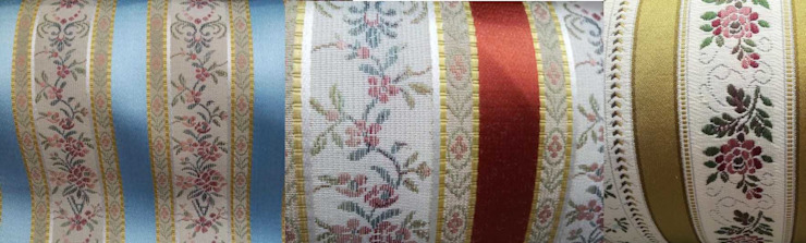 coussin tissu ameublement style empire