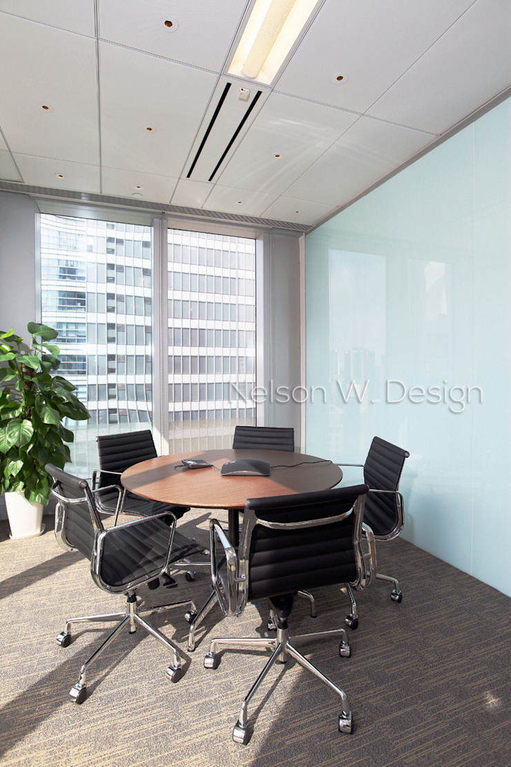 LHT Tower | Central | Hong Kong by Nelson W Design Modern