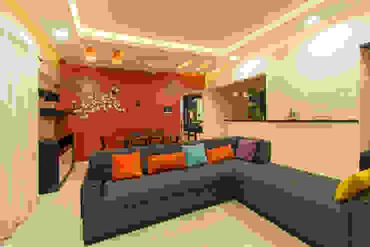 A residence for Mr.Nitin Warrier at Blue Ridge ,Hinjewadi ,Pune: minimalist  by Navmiti Designs,Minimalist