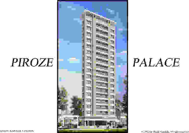 PIROZE PALACE SAMPLE FLAT Modern houses by HK ARCHITECTS Modern