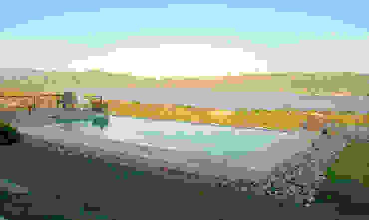 Casa Lago Piscinas modernas por renziravelo Moderno
