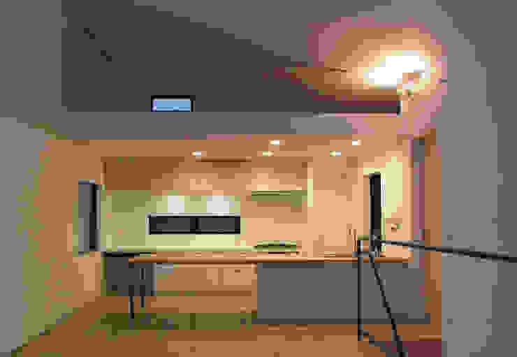Kitchen by 荘司建築設計室, Modern
