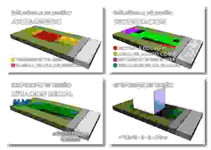 Edificio Errosion GGAL Estudio de Arquitectura กำแพง