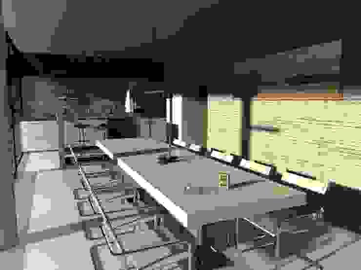 Edificio Mecenas GGAL Estudio de Arquitectura Modern dining room