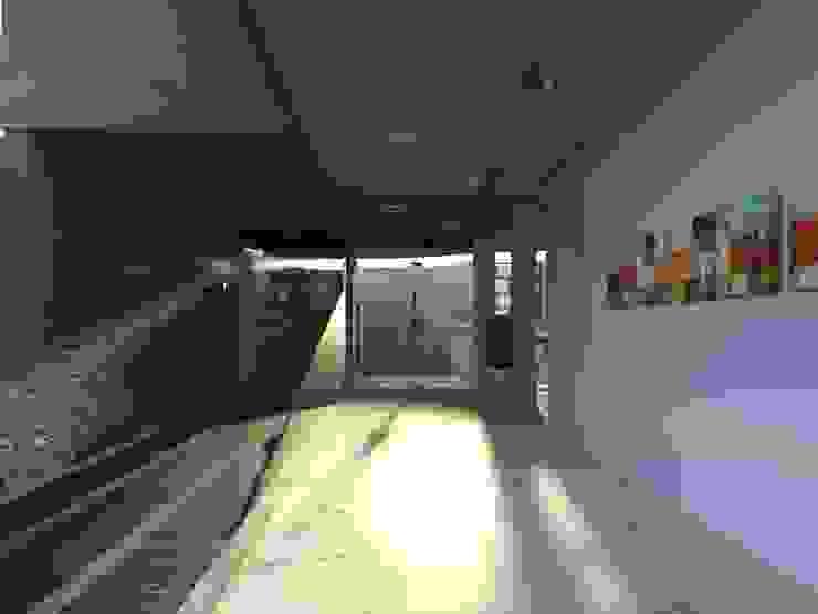 Edificio Errosion GGAL Estudio de Arquitectura ห้องโถงทางเดินและบันไดสมัยใหม่