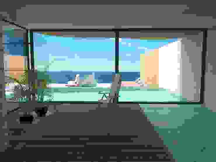 Edificio Errosion GGAL Estudio de Arquitectura สระว่ายน้ำ