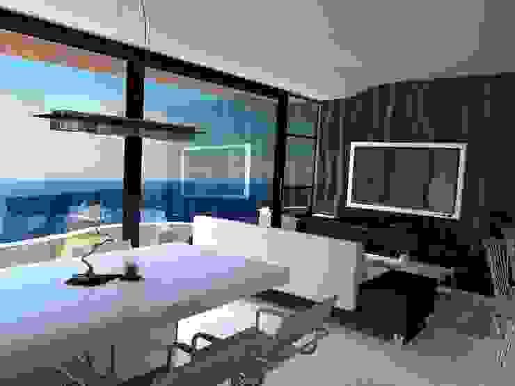 Edificio Errosion GGAL Estudio de Arquitectura ห้องทานข้าว