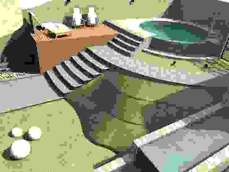 Edificio Errosion GGAL Estudio de Arquitectura สวน