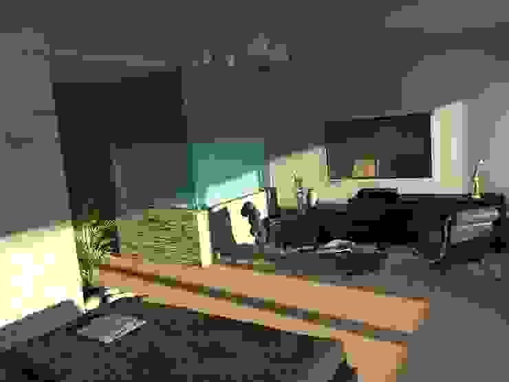 Edificio Errosion GGAL Estudio de Arquitectura ห้องนั่งเล่น