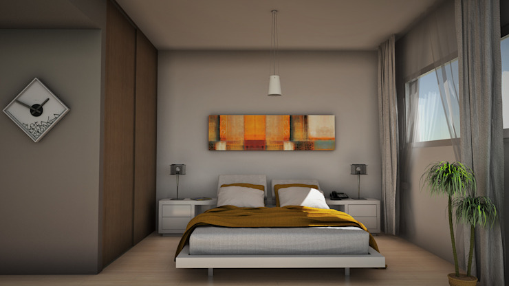 Bedroom by GGAL Estudio de Arquitectura