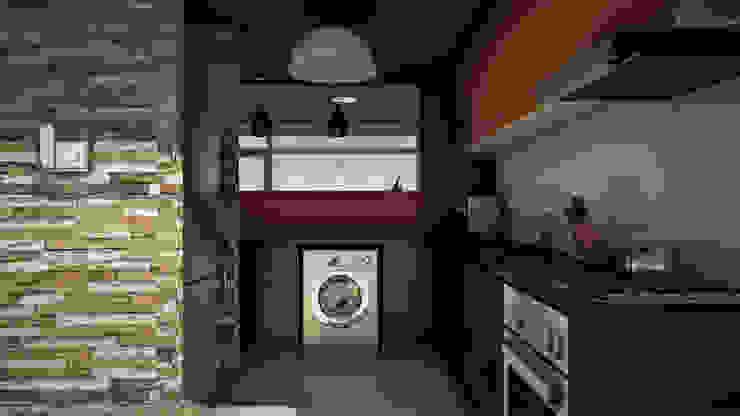 Edificio The Block GGAL Estudio de Arquitectura Modern style kitchen