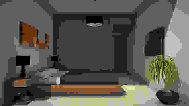 Edificio The Block GGAL Estudio de Arquitectura Modern style bedroom