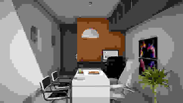Edificio The Block GGAL Estudio de Arquitectura Modern style study/office