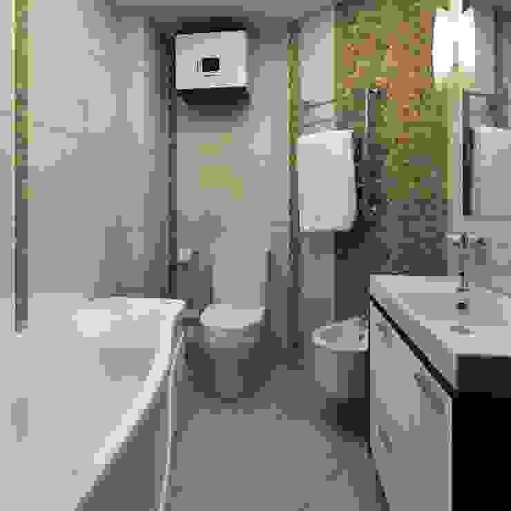 ДизайнМастер Classic style bathroom Tiles Beige