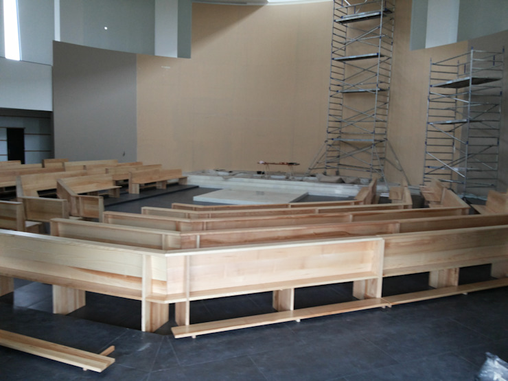 Mobiliário e Carpintaria SG:  industrial por SG Indústria de Mobiliário,Industrial Madeira maciça Multicolor