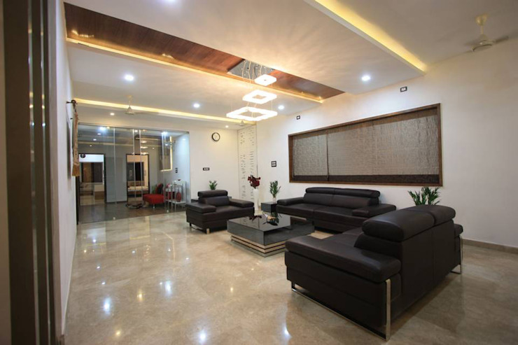 Living room by Ansari Architects,