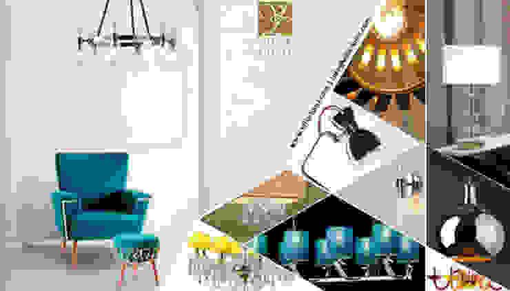 Villa Lumi lamps por LUZZA by AIPI - Portuguese Lighting Association Moderno