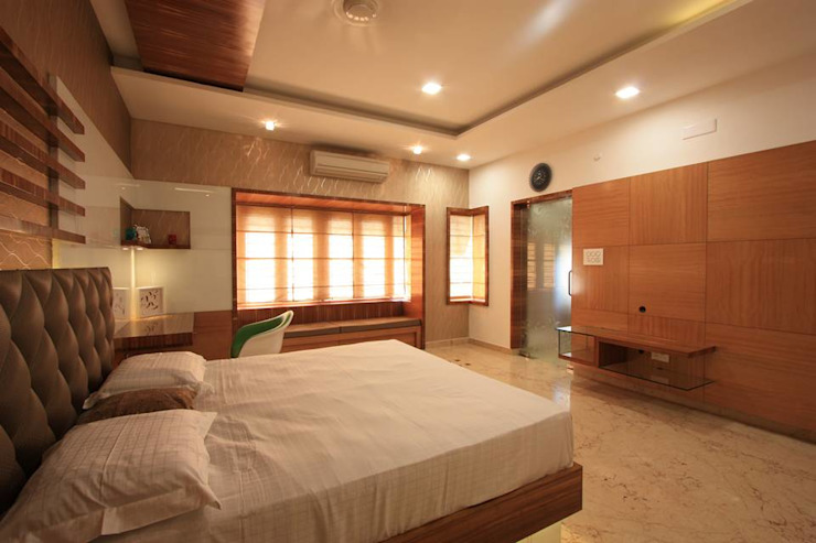 Master Bedroom Modern style bedroom by Ansari Architects Modern