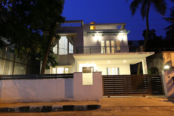 Exterior Modern home by Ansari Architects Modern