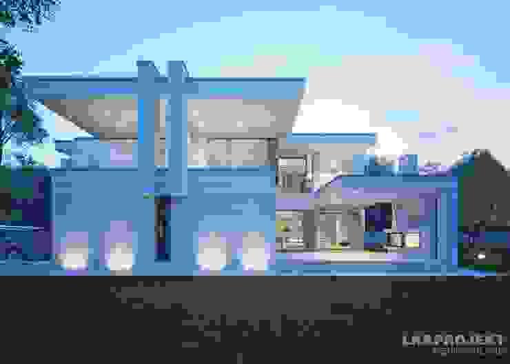 Casas de estilo  por LK&Projekt GmbH, Moderno