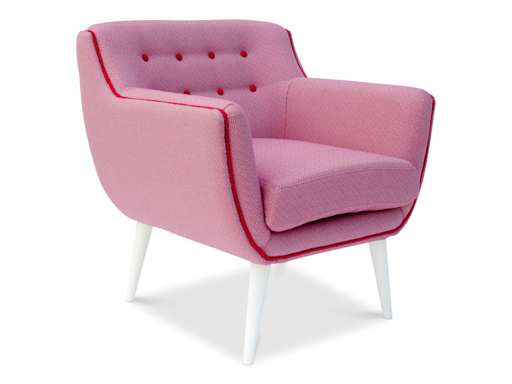 MELT ROSE Armchair MUMINT Living roomSofas & armchairs