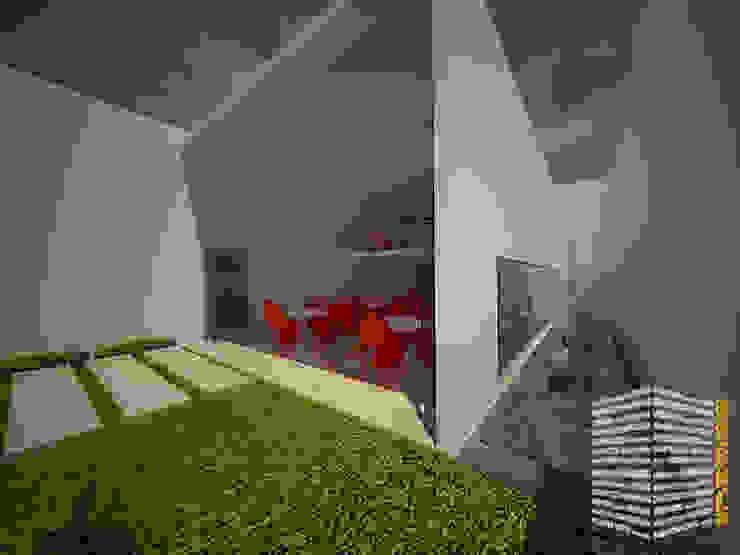 ESPEJO DE AGUA Casas minimalistas de HHRG ARQUITECTOS Minimalista