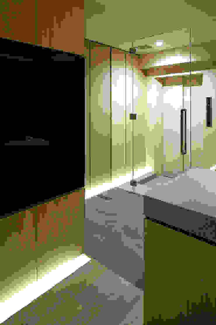 藤村デザインスタジオ / FUJIMURA DESIGIN STUDIO Couloir, entrée, escaliers modernes Bois Blanc