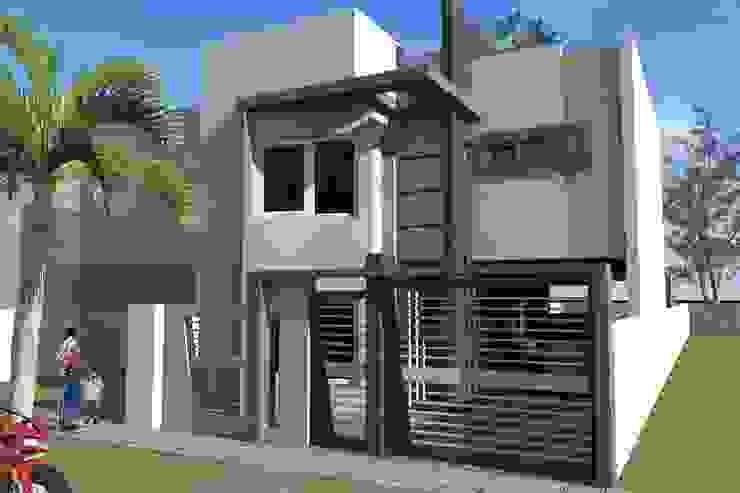 Fachada Casas modernas: Ideas, imágenes y decoración de NLA Arquitectura Moderno