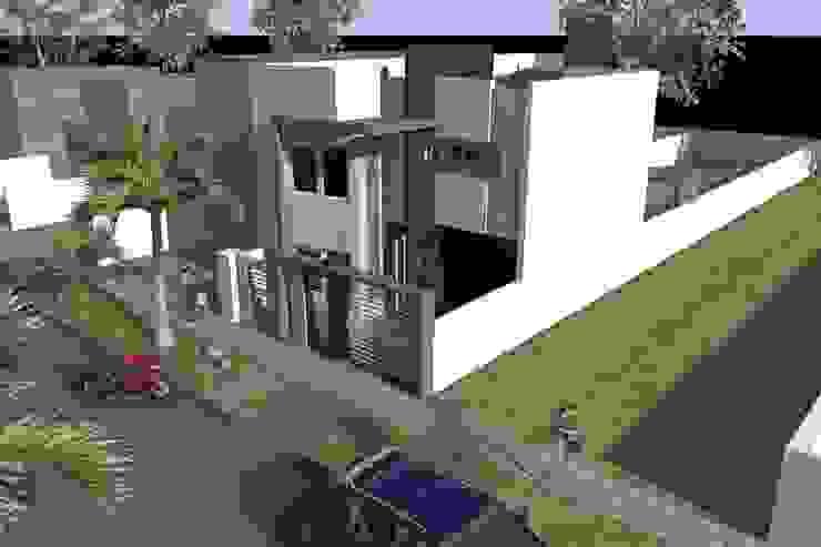 Axonometria Casas modernas: Ideas, imágenes y decoración de NLA Arquitectura Moderno
