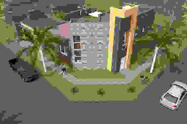 Vivienda Unifamiliar - Esquina al Río Casas modernas: Ideas, imágenes y decoración de NLA Arquitectura Moderno