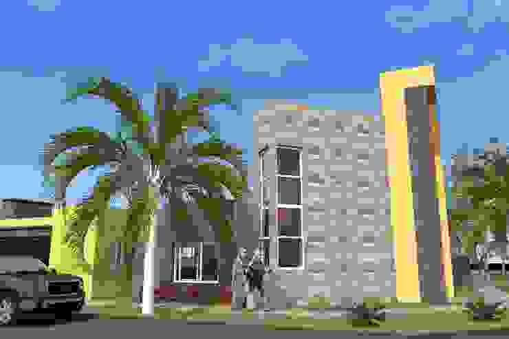 Vivienda Unifamiliar – Esquina al Río Casas modernas: Ideas, imágenes y decoración de NLA Arquitectura Moderno