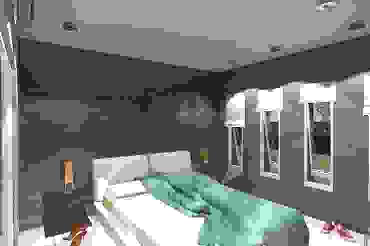 Vivienda Unifamiliar – Esquina al Río Dormitorios modernos: Ideas, imágenes y decoración de NLA Arquitectura Moderno