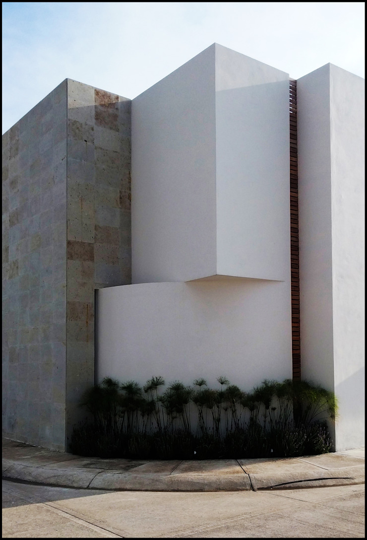 Modern houses by BAG arquitectura Modern Concrete