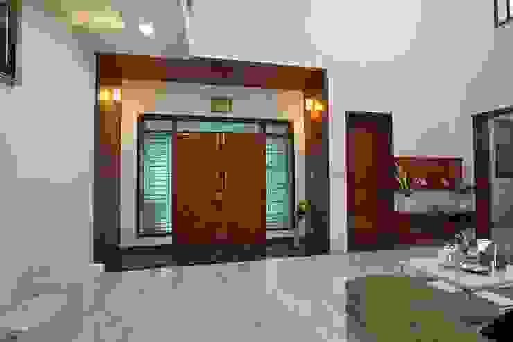 Ansari Architects Balcone, Veranda & Terrazza in stile moderno