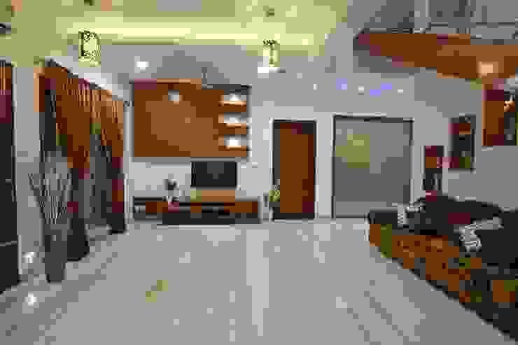 Ansari Architects Soggiorno moderno
