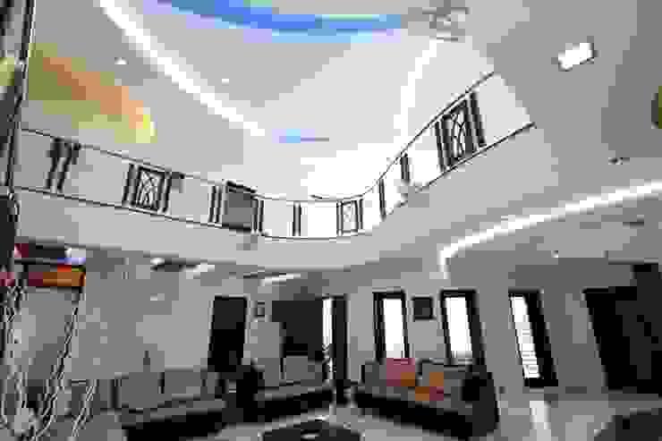 False ceiling Modern living room by Ansari Architects Modern