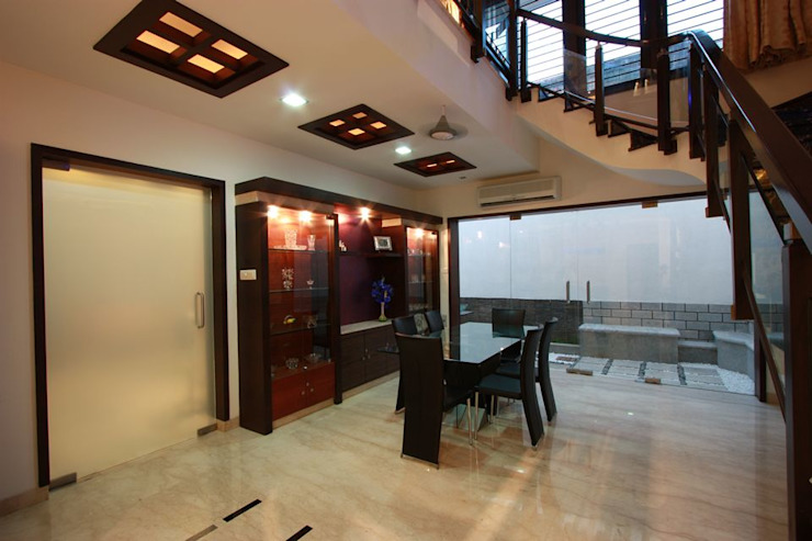 Dining room by Ansari Architects, Modern